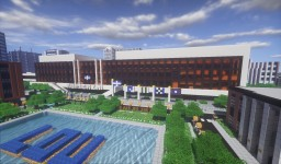Administration Building (Donald E. Barton Building) Minecraft Project