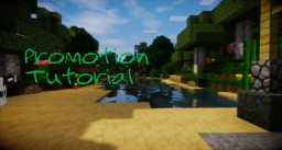 How to promote your Minecraft creation (Map, skin, resourcepack, server etc)
