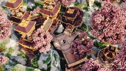 Peace - Oriental Spawn Minecraft Map & Project