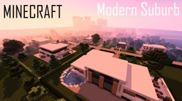 Minecraft Modern Suburb Minecraft Project