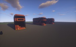 London New Routemaster doubledecker bus Minecraft Map & Project