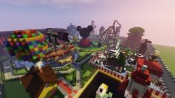MAGIC WORLD DISNEY Minecraft Project