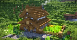 Simple, Compact and Cute Survival House - Minecraft Tutorial