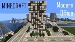 Modern Office Building 3 (full interior) Minecraft Map & Project