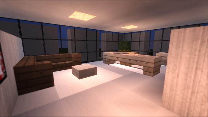 Modern office building 3 full interior minecraft project - Minecraft office interior ...