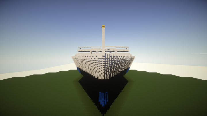 Huge Cruise Ship 500 Blocks Long Minecraft Project