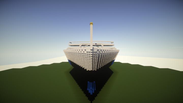 Huge Cruise Ship 500 Blocks Long Minecraft Project