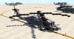 Sikorsky HH-60H Rescuehawk Minecraft Map & Project