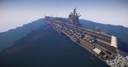uss enterprise aircraft carrier 1/1 scale Minecraft Project