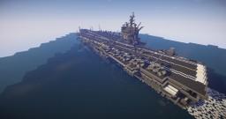 uss enterprise aircraft carrier 1/1 scale Minecraft
