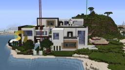 Redstone  Modern Mansion Minecraft Map & Project
