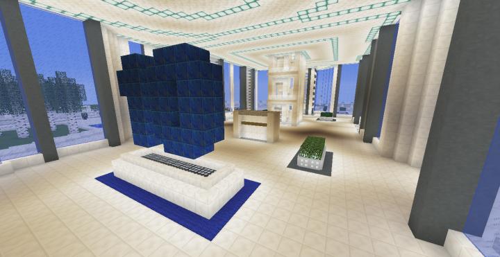 Quartz Tower 10 Minecraft Project
