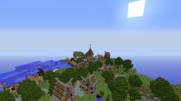 My First village me minecraftis build in 2015