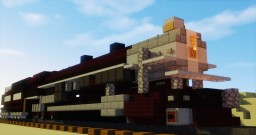 Southern Pacific 5021 4-10-2 Steam Locomotive Minecraft Project