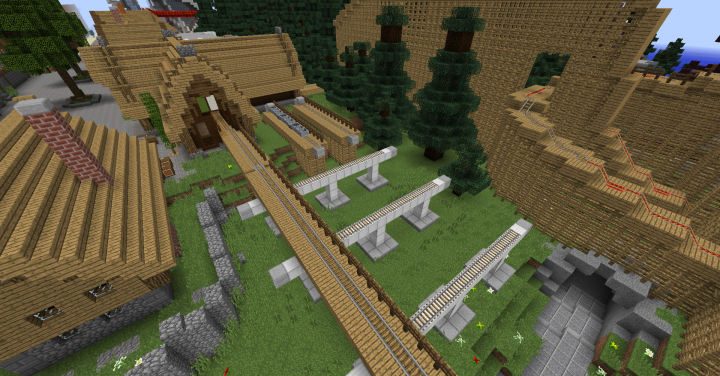Transfer track for WODAN