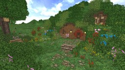 Knotty Hollow - Hobbit Hole Minecraft Map & Project