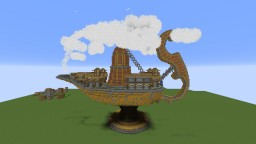 Genie Lamp Village Spawn Minecraft Map & Project
