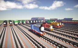 Sodor Model Railway TTTE Minecraft