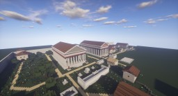 Paestum - Roman city Minecraft Project
