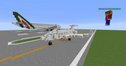 NutellaAndBread's private jet Minecraft Map & Project