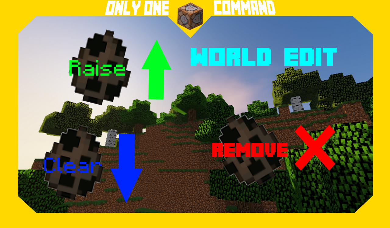 World Edit | Command Block Creation Minecraft Project