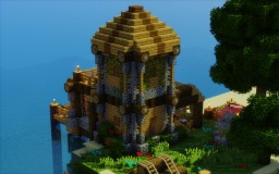 The Villager's Getaway Minecraft Map & Project