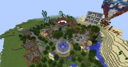 Spawn Survival Easy-Hard Minecraft Map & Project