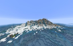 Minecraft map: The white island + [Map Download]