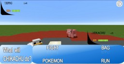 A REAL Minecraft Pokemon Battle Minecraft Project