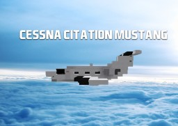 Cessna Citation Mustang | Scale 1:1 Minecraft Project