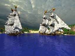 HMS Chariot   |   Corvette style ship Minecraft Project
