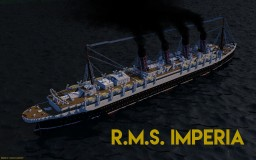 RMS Imperia ~ Liner of 1899 (Custom) ~ Cunard ~ Download Minecraft Map & Project