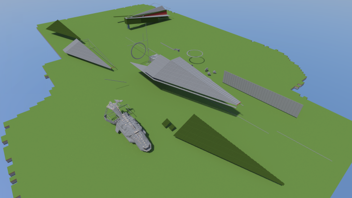 Day 2 of construction. Note the nearby 250m Tartan-class Patrol Cruiser, a useful scale comparison.