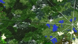 Aureole: 10k survival terrain Minecraft