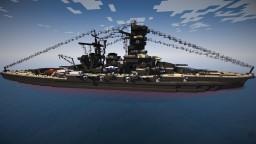 IJN KONGO 1:1 Scale Minecraft Project