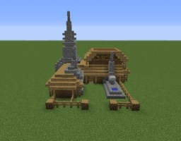 Minecraft: Medieval Workshop Minecraft Project