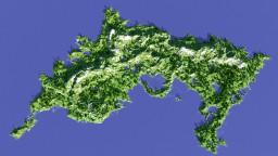 Island of Ayora - Terrain fading away Minecraft Map & Project