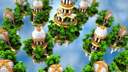 Temple of Ares - Skywars Map Minecraft