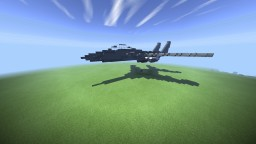 Douglas F-15E Strike Eagle Minecraft Map & Project