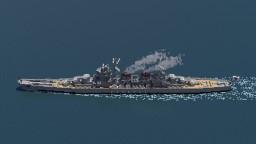 Fictional Japanese Anti-aircraft Cruiser - 網走 (Abashiri) Minecraft Project