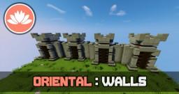 Oriental Walls Tutorial Minecraft Map & Project