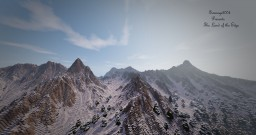 The Land Of The Edge - Snow Mountains - #WeAreConquest Minecraft Map & Project