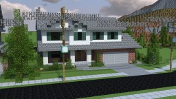 Small Suburban Home Minecraft Project