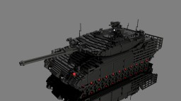 10:1 scale tank Minecraft Project