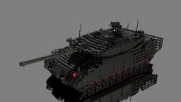 10:1 scale tank Minecraft