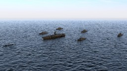 USA Carrier battle group prototype Minecraft