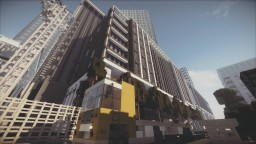 Modern City Mixed-Use Building And Construction Site Minecraft Project
