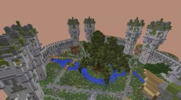 Medieval Spawn + Tree of life Minecraft Map & Project