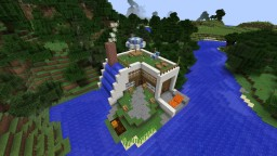 Waterfall base Minecraft Map & Project