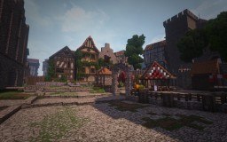 Witcher - NOVIGRAD (inspiration Witcher 3) Minecraft Project